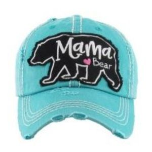 Accessories - Mama Bear Distressed Hat